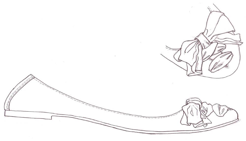 Shoe Designs Drawings Shoe Sketch