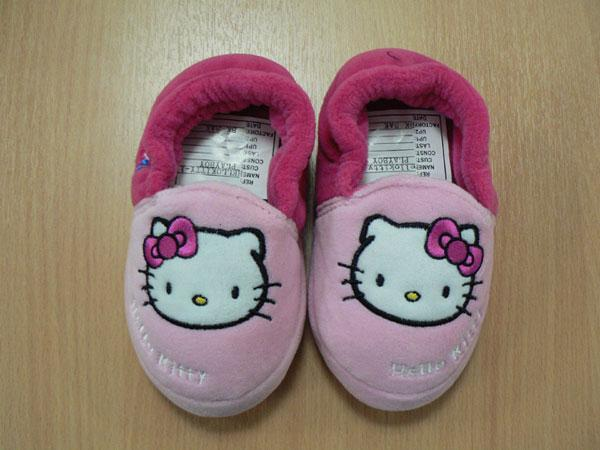 Photo of character licensed slippers