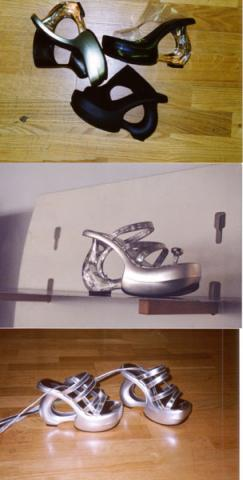 Photo of prototype shoes