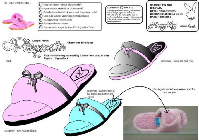 Image of slipper spec