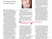Article from Human Resources Magazine