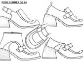 Image of kids shoes design