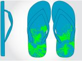 Image of an EVA flip flop design